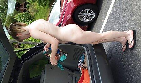 MILF brune en chaleur Jen avec un cul video sex party amateur rond et d'immenses seins